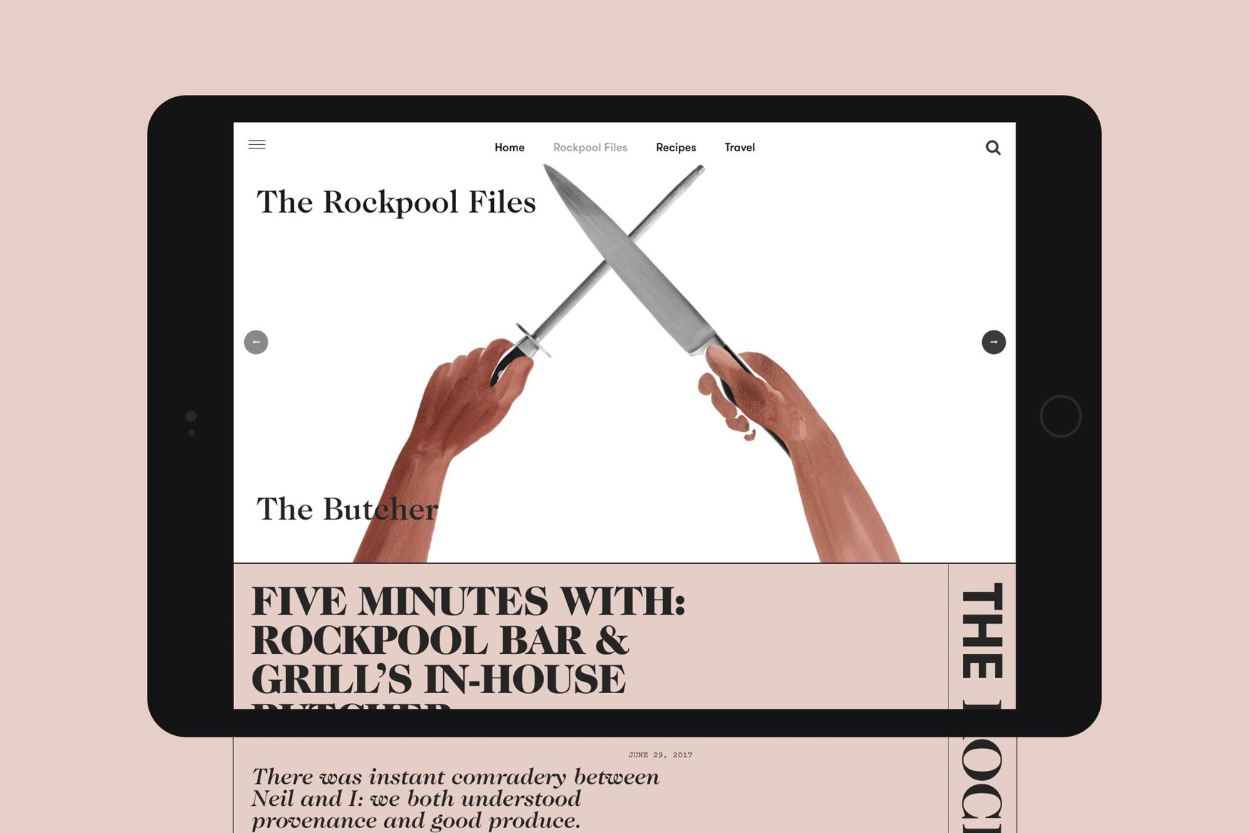 The Rockpool Files