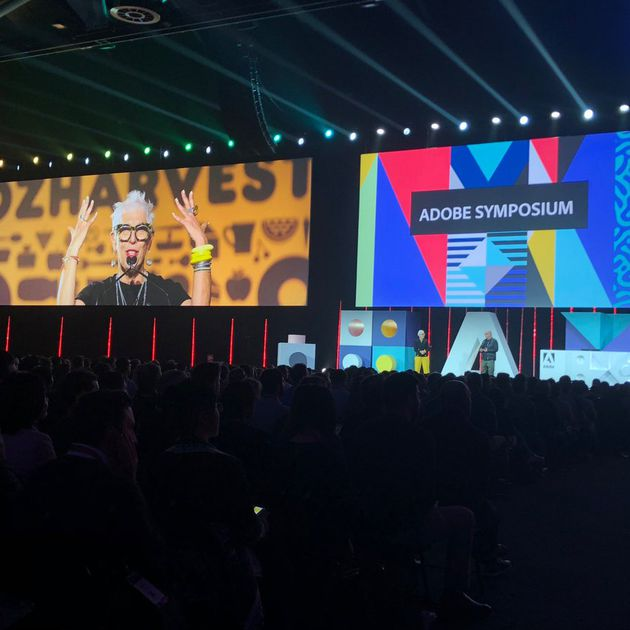 Vince Frost and Ronni Kahn present at Adobe Symposium
