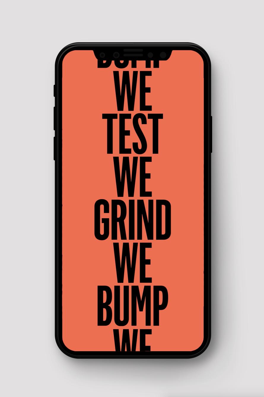We Brunch, We Grind, We Test