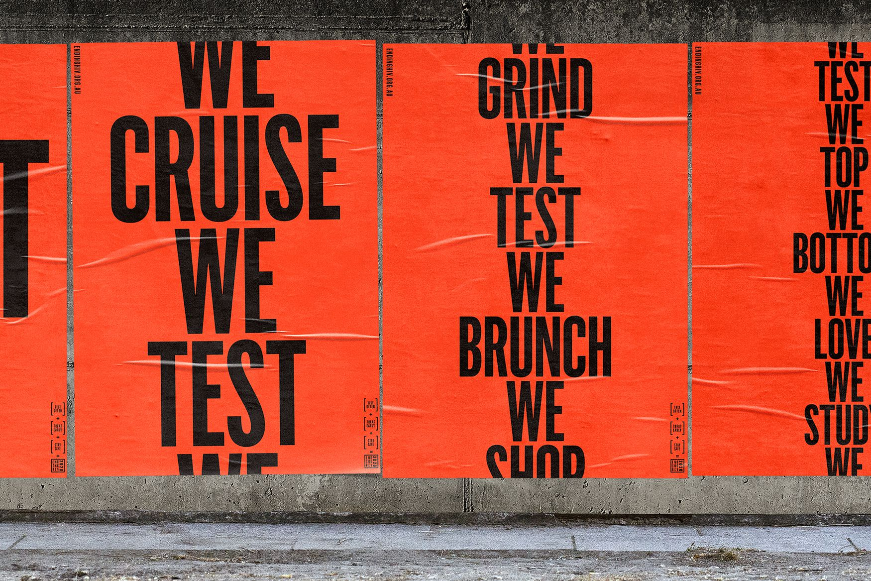 We Brunch, We Grind, We Test