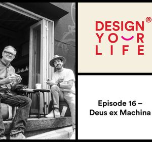 E016 Dare Jennings & Carby Tuckwell, founders of Deus ex Machina, with Vince Frost