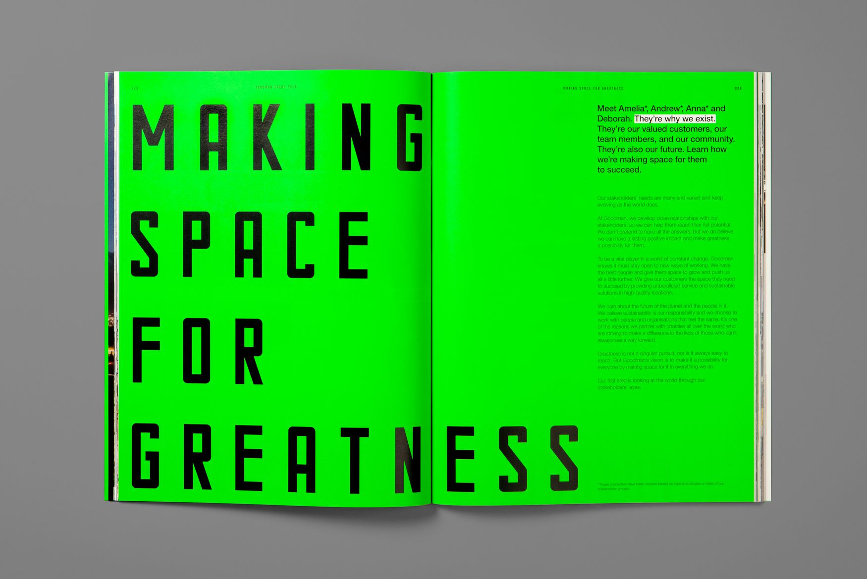 Making Space for Greatness