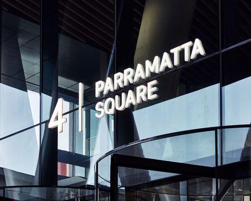 4 Parramatta Square Signage