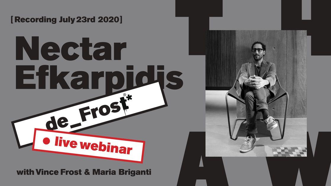 de_Frost #59 - Redefining development with Nectar Efkarpidis - Live Webinar